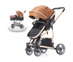 BBO kolica za bebe tiffany - brown ( 618BROWN )