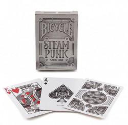 Bicycle Premium Silver Steampunk Karte ( 1025591 )
