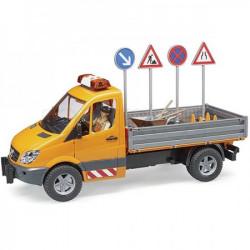 Bruder Kamion + set saobraćajnih znakova ( 18476 )