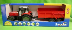 Bruder traktor sa prikolicom 2045 ( 6540 )