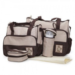 Cangaroo Torba za pribor Stella brown color ( CAN0231BR )