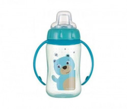 Canpol baby flašica/šolja sa kljunom i ručkama 56/512 Happy animals - training 320ml - bear ( 56/512_tur )