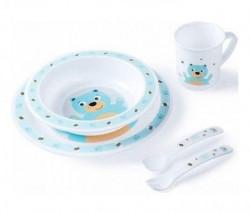 Canpol baby set za hranjenje 4/401 - bear ( 4/401_tur )
