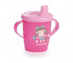Canpol baby šolja 250ml non spil 31/200 toys - pink ( 31/200_pin )