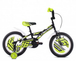 """Capriolo bmx 16""""ht mustang crno-lime ( 921114-16 )"""