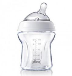 Chicco flašica Naturalfeeling 150 ml, silikon 0m+ ( A008972 )