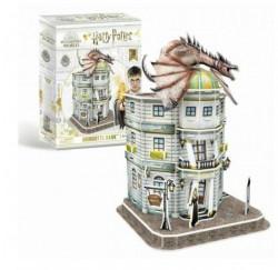 Cubbic fun puzzle harry potter diagon alley - gringotts bank ( CBF210052 )