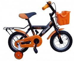 """Cubo Cool X 12"""" Bicikl za decu crno-narandžasti ( BCK0325 )"""
