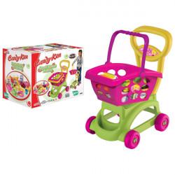 Dede Kolica sa korpom za kupovinu i namirnicama - Candy & Ken ( 030327 )