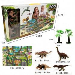 Dinosaurus set sa podlogom ( 946445 )