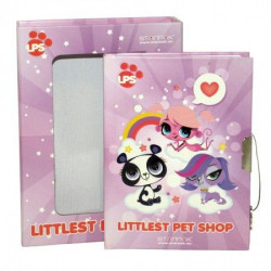 Dnevnik Littlest Pet Shop 17x1 ( 33-306302 )