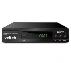 DVB-T2 Digitalni risiver Velteh 600T2 + RF ( 00T201 )