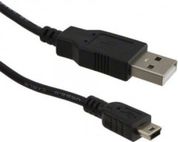 Fast Asia Kabl USB A - USB Mini-B M/M 1.8m crni