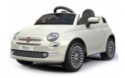 Fiat 500 licencirani Dečiji auto na akumulator model 237 sa daljinskim - beli