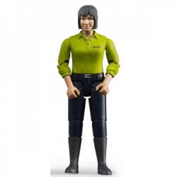 Figura žena, tamno plavi jeans ( 604059 )