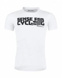 Force majica sense kratki rukav, bela xl. ( 90773-XL )