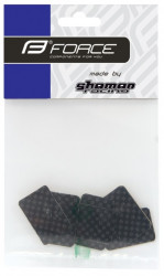 Force nalepnice za zaštitu rama, set od 6 kom., karbon ( 16370 )