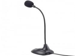 Gembird desktop mikrofon, savitljivo telo, black, 3.5mm sa prekidacem MIC-205