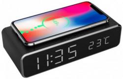 Gembird digitalni sat + alarm sa bezicnim punjenjem telefona, Bback DAC-WPC-01