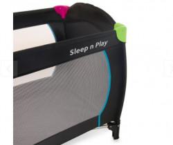 Hauck prenosivi krevetac Sleep n play Go Plus ( A003857-multiblack )