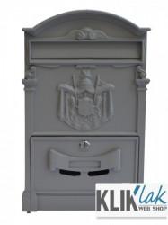 Joilart Bonassola poštansko sanduče sivo ( 9621 )