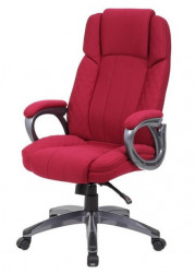 Kancelarijska stolica OFFICE STAR od štofa - Crvena