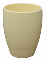 Kerbek saksija romy 16cm uni krem ( KE D50/160/003 )