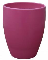 Kerbek saksija romy 16cm uni roza italija ( KE D50/160/006 )