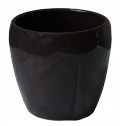 Kerbek saksija tarifa 15cm glazura kupina ( KE G58/150/011 )