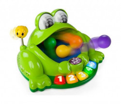Kids II igracka bs zaba sa animacijom pop & giggle pond pal231 6m+ ( SKU10309 )