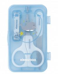 KikkaBoo manikir set za bebe 3 dela Whale Blue ( KKB90060 )