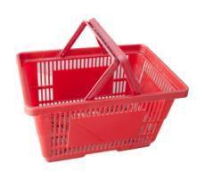 Korpa plastična 40cm x 30cm x 22cm crvena ( 70000100 )