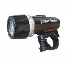 Lampa prednja JY-808-1 4 funkcije 5 LED crna ( 190081 )