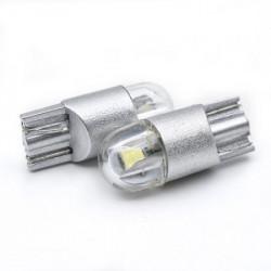 LED pozicije bele T10-3030-2SMD/2 (2 kom) ( 03-056 )