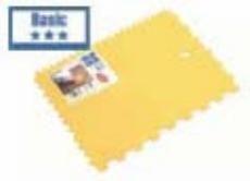 Lux plastična nazubljena špahla 180 mm ( 577235 )