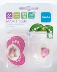 MAM laža Trends 6m+, silikon, 2kom ( A022403 )