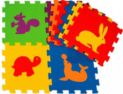 Matrax toys slagalice podne 9kom EVA ( 003069 )