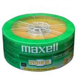 Maxell DVD+R Double Layer 8.5GB 8X ( 55YM+/Z )