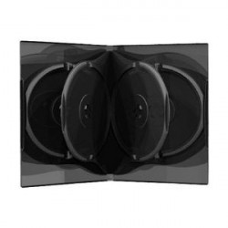 MediaRange BOX16 Kutija za 6 DVD Diskova Crna 22MM ( 9556D/Z )