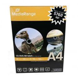 MediaRange MRINK130 papirne kružne nalepnice za cd-dvd ( 07M/Z )