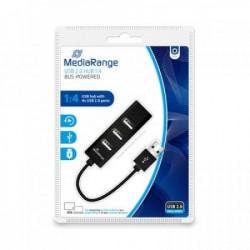 Mediarange USB HUB 2.0 sa dodatnih 4 USB porta MRCS502 ( HUBMR502/Z )
