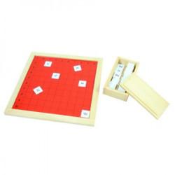 Montesori HTM0147 Pitagorina tabla ( 14079 )