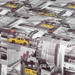 Mušema 160x140 cm - City taxi ( 16703 )