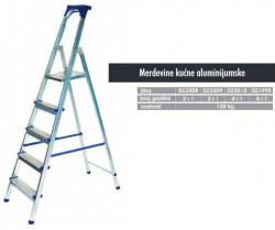 N/A merdevine aluminijumske kućne sa 3 + 1 gazišta ( 022009 )