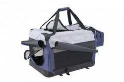 Nobby 76394 Transporter platneni plavo/sivi 92x64x64cm ( NB76394 )