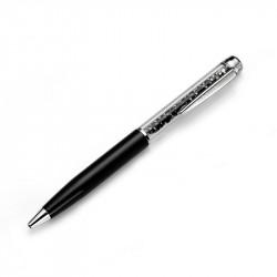 Olovka sa swarovski kristlima Oliver Weber Crystal Luxury Pen Black