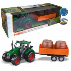 Pertini P-0272/1 Traktor sa prikolicom i buretom ( 15577 )