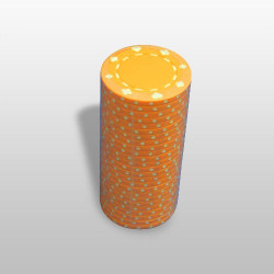 Poker žeton - Narandžasti ( MAN-061 ORANGE )