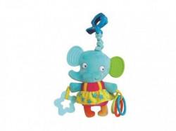 PrimeToys igračka zvečka glodalica slonica Eli ( 0127208 )