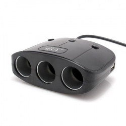 Produžni adapter za upaljač 512 sa 3 rupe ( 01A418 )